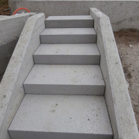Blockstufen Beton mit Schattenfuge