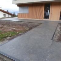 Großformatplatten in Beton auf Maß