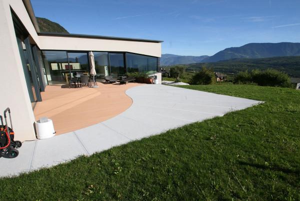 Terassenplatten Beton auf Maß
